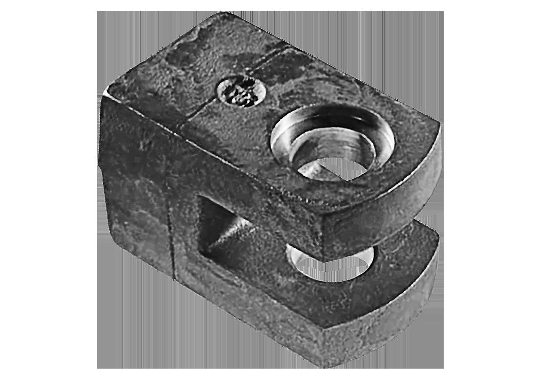 Stahlgussteil für Gewinnungs- und Aufbereitungsmaschinen von L+S Präzisionsguß GmbH