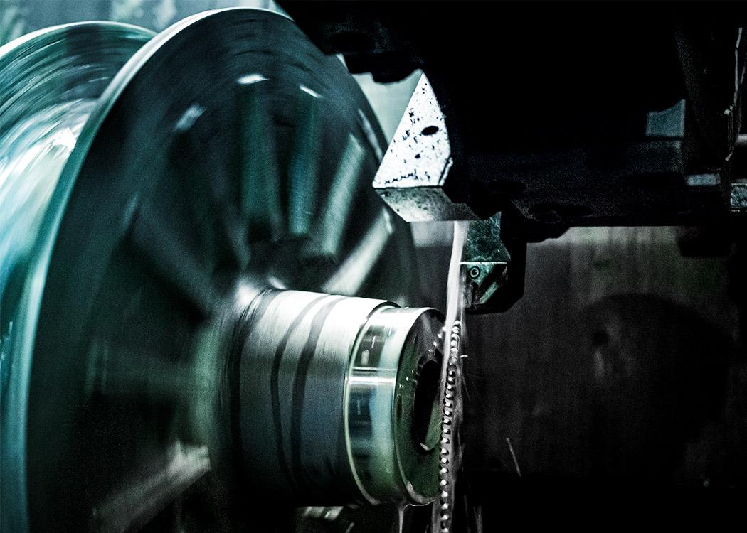 CNC gesteuerte Drehtechnik im Bereich Mechanische Bearbeitung in der Gießerei L+S Präzisionsguß GmbH